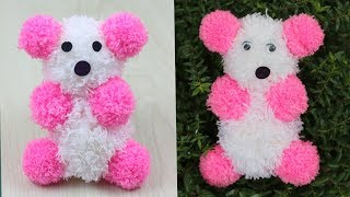 Best Out Of Waste Woolen Teddy Bear Making at Home/How To Surprise Your Girlfriend