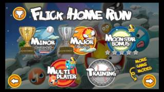 Cheap Flick Home Run iOS Game for Points and Power Ups