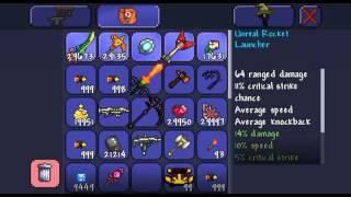 How to change prefix on items ex,(Legendary, godly, demonic) etc. Terraria IOS