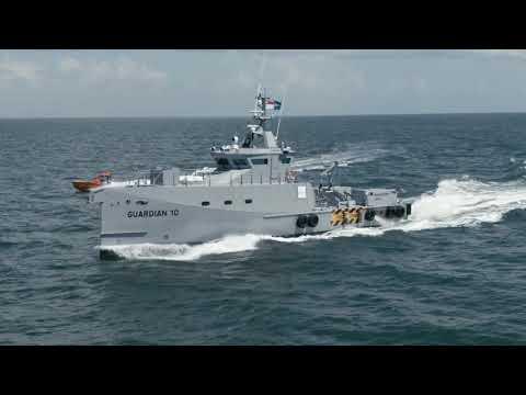Damen FCS 3307 Patrol vessels Guardian 9 & 10 deliverd to Homeland IOS ltd. Nigeria