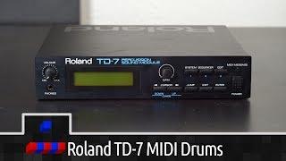 Roland TD-7 MIDI Drum Sound Module