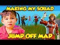I MADE MY SQUAD JUMP OFF THE MAP! (Funny Fortnite Trolling)