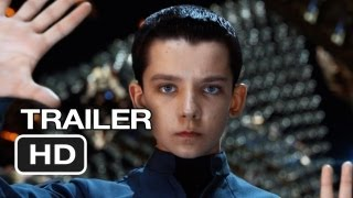 Ender's Game Official Trailer #1 (2013) - Harrison Ford Movie HD(Watch our Trailer Review: http://goo.gl/uNrVY Subscribe to TRAILERS: http://bit.ly/sxaw6h Subscribe to COMING SOON: http://bit.ly/H2vZUn Like us on ..., 2013-05-07T20:29:52.000Z)