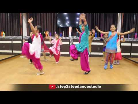3 Peg Sharry Mann Dance Video | Kids Bhangra Performance | Choreography By Step2Step Dance Studio
