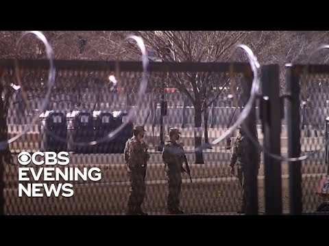 """Police chief warns of extremist desire to """"blow up"""" Capitol - CBS Evening News"""