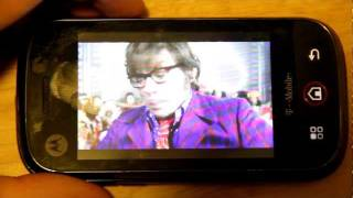 Netflix On The Motorola Cliq with CM7 Overclocked to 729Mhz!