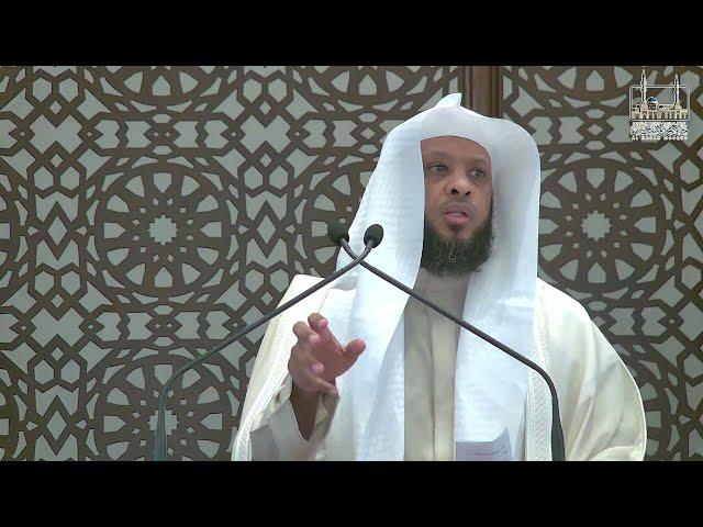 شرف الإنتساب إلى رسول الله ﷺ   خطبة الجمعة   الشيخ توفيق الصايغ