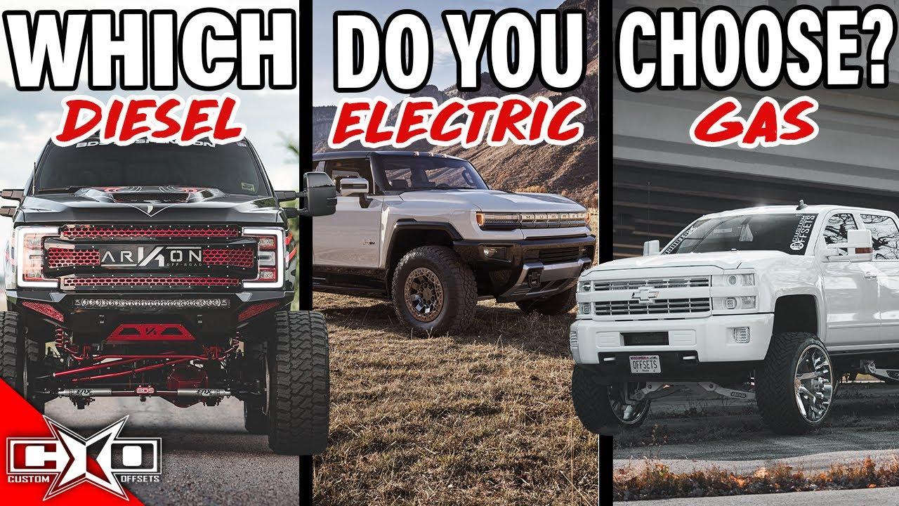 Diesel vs. Electric vs. Gasser?! || This or That