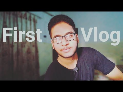 My First Vlog-The Official Startup