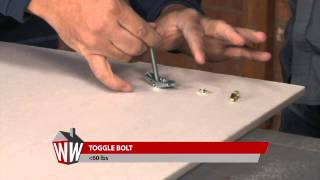 How to Hang Heavy Items Without a Stud