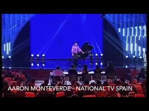 TV ONE MINUTE APPEARANCE SEMIFINALIST Aaron Monteverde National Television Spain quicktime