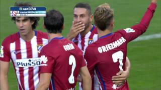 Video Gol Pertandingan Atletico Madrid vs Las Palmas