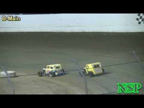 July 29, 2016 PHRA Dwarf Car Nationals B-Main Grays Harbor Raceway