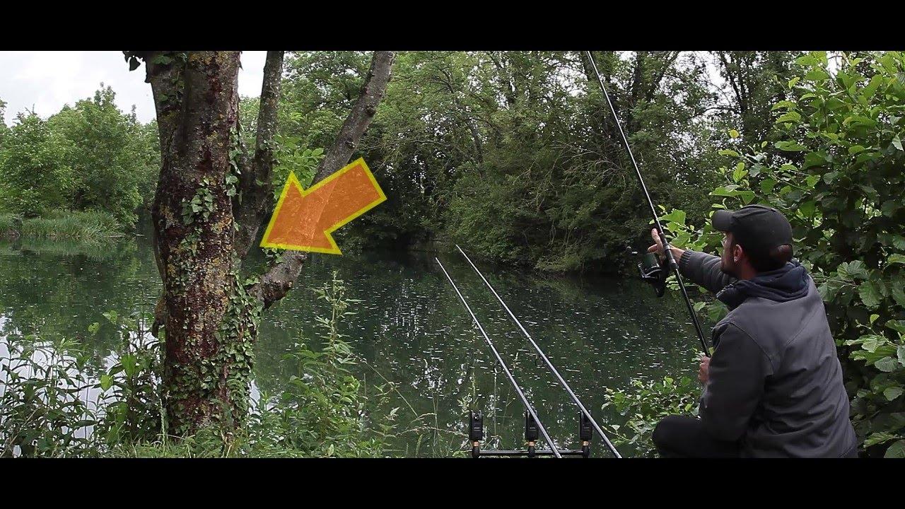 ( SPEED FISHING ) CE SPOT EN CANAL EST FOU !!!! ( Pêche a la Carpe )
