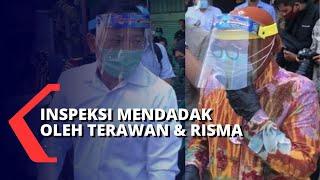 Dadakan! Menteri Terawan Dan Walkot Risma Tinjau Pasar Genteng Surabaya