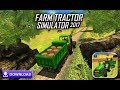 Heavy Tractor Cargo Driving:Rural Farming Sim 2018