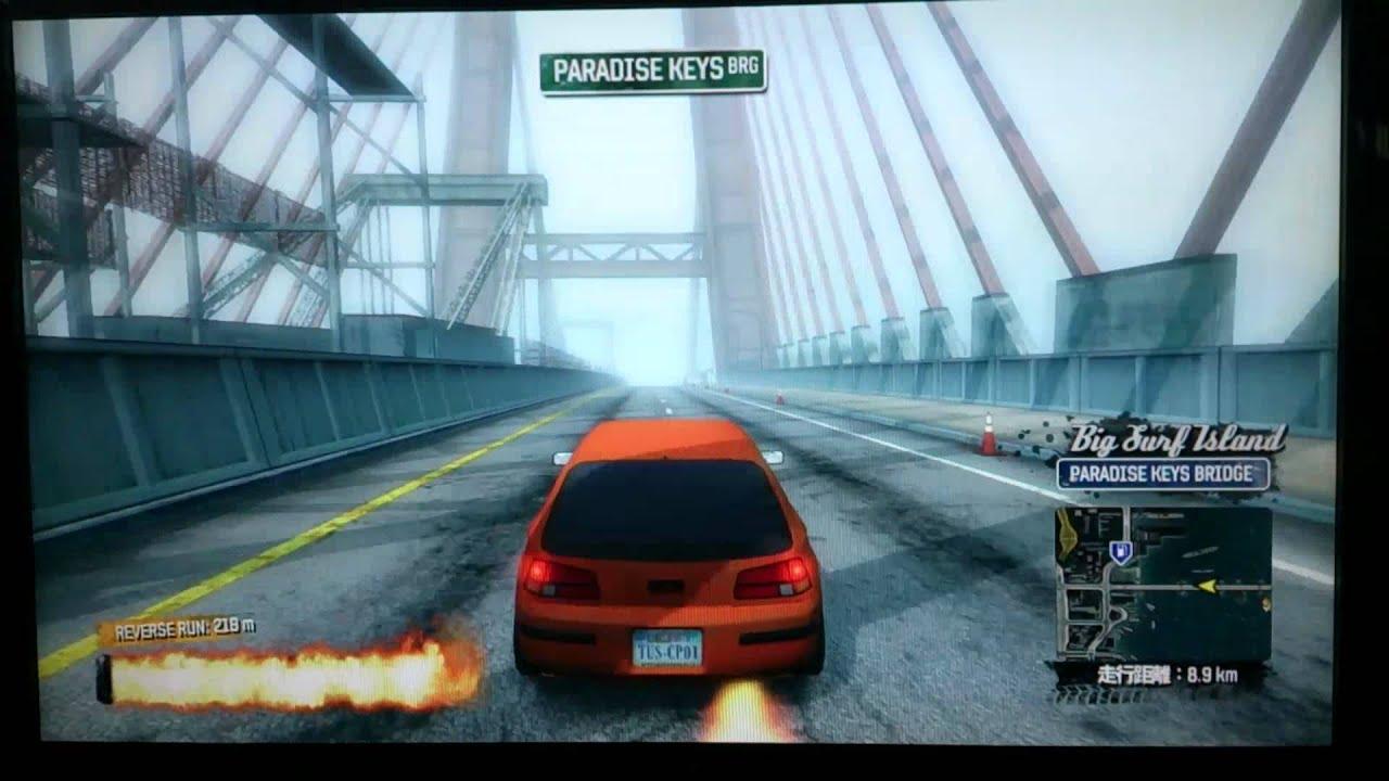burnout paradise traffic car ps3 youtube. Black Bedroom Furniture Sets. Home Design Ideas