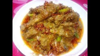 Hasher Mangsho Vuna - হাঁসের মাংস ভুনা - Narkel er Dudhe Hasher Mangsho - Duck curry recipe
