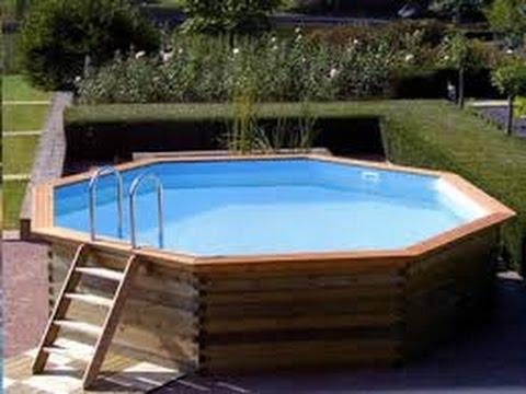 Piscina de pallet detalhada leia a descri o for Above ground pool removal ideas