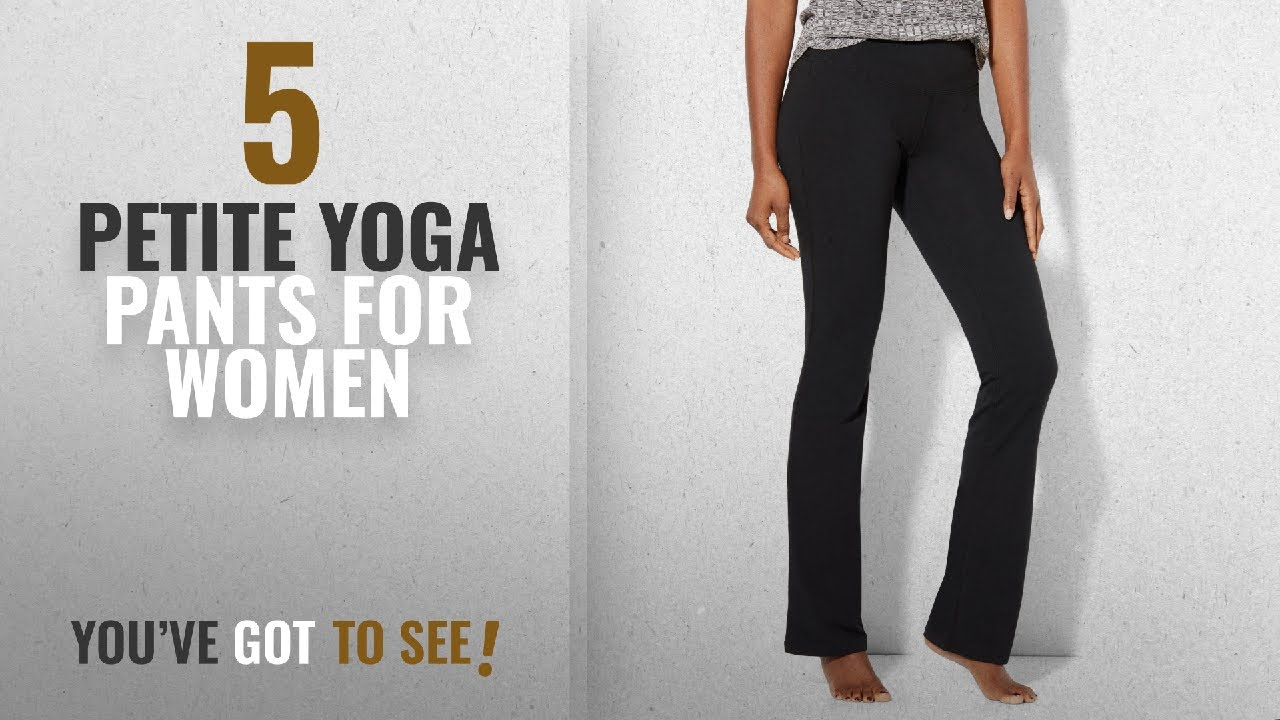 498bfb410fc37 Top 10 Petite Yoga Pants For Women [ Winter 2018 ]: New York & CO ...