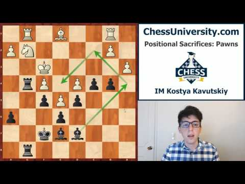 Positional Sacrifices - Vol 1: Pawns - Classic Examples - Historic Games