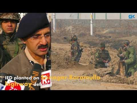 IED planted on Srinagar-Baramulla highway defused