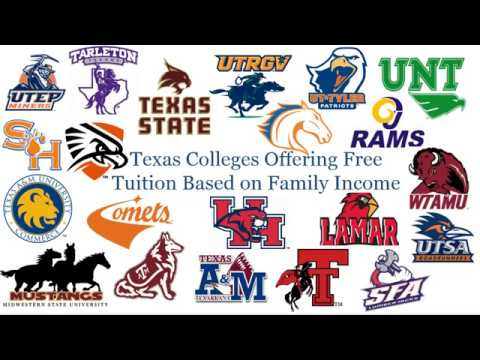 Texas Colleges that Offer Free Tuition Based on Income