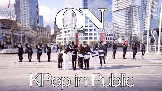 [KPOP IN PUBLIC - ON DANCE COVER] -- BTS -- 방탄소년단 [YOURS TRULY COLLAB]
