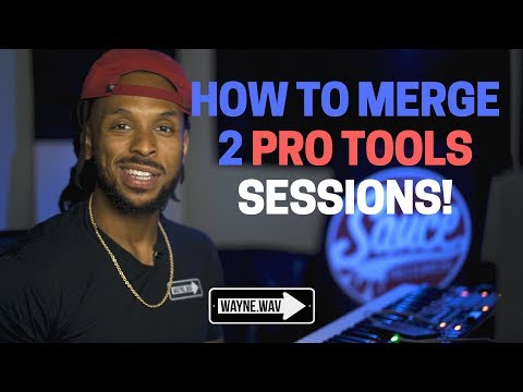 "How To Merge 2 Pro Tools Session Using ""Import Session Data"""