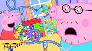 Peppa Pig Official Channel | Peppa Pig's Marble Run Mess