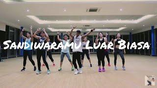 Gambar cover Joget Sandiwaramu Luar Biasa - Siti Badriah ft. RPH Donall  ZUMBA || Dangdut || At Global Balikpapan