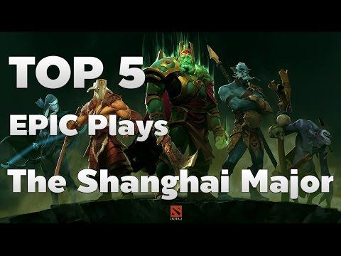 Top 5 Epic Plays The Shanghai Major - DotA2 Rage Quit