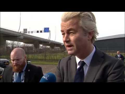 Amsterdam  Wilders vergleicht Koran mit Mein Kampf