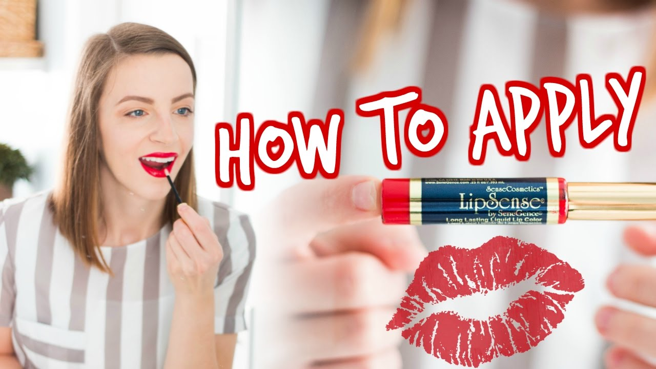 How To Apply Lipsense (beginner Tips And Tricks!)