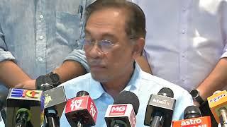 Sidang media Mesyuarat Biro Politik PKR oleh Presiden PKR
