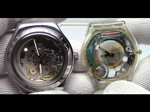 Automatic vs Quartz Movements - Watch and Learn #4