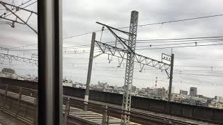 上越新幹線から見た埼京線