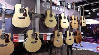 NAMM '16 - Washburn Heritage Series, Comfort Series, and Woodline Series Acoustics