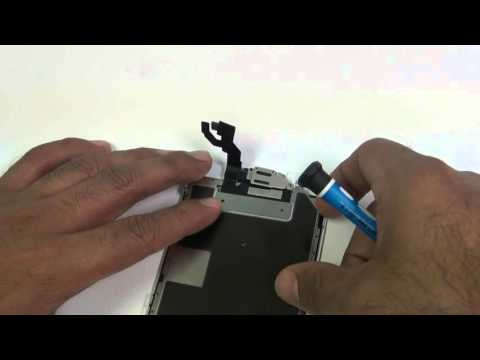iPhone 6S Plus Front Camera, Proximity Sensor, Ear Speaker Flex Cable Repair Replacement Guide