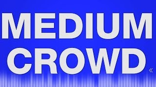 Crowd SOUND EFFECT - Talking Poeple Noise Ambience Chatter sound fx