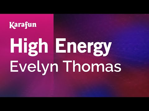 Karaoke High Energy - Evelyn Thomas *