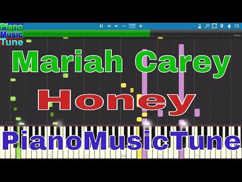 Mariah Carey-Honey 87K  MIDI Synthesia] Piano music Tune  black remix piano music tune