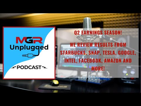 Earnings Season - We Review Starbucks, Tesla, Intel, Alphabet, Facebook, Amazon and More!
