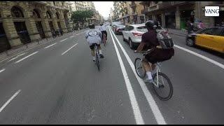 Alleycat carrera clandestina ciclista en Barcelona