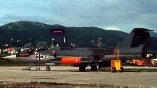 Starfighter F-104G og 331 skvadronen