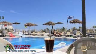 Santorini Camping, Κατασκήνωση Σαντορίνη, Δωμάτια, Κοιτώνες, Πισίνα, Hostel, Κάμπινγκ