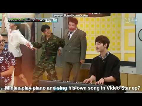 Kim Minjae's Piano Arrangement And His Deep Voice Singing