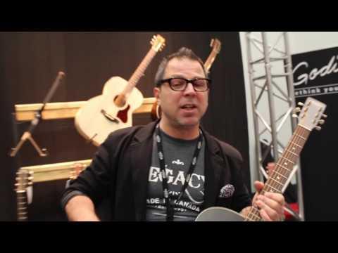 MMR  with Godin Guitars at The 2017 NAMM Show