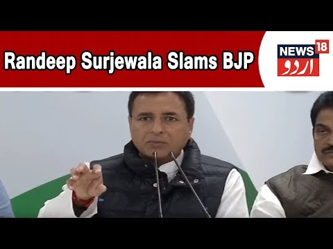 Congress Leader Randeep Surjewala Alleges Yedyurappa Offering 10 Crores For Toppling Govt