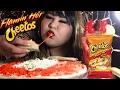 Hot Cheetos Quesadilla MUKBANG Wendy S Eating Show mp3